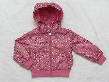 HELLO KITTY PINK SHOWER PROOF JACKET  sizes  2, 2-3 6-7 & 7-8
