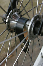 Leather Bicycle Hub Shine for Front/Single-Speed Hubs (Brompton, Pashley etc.)