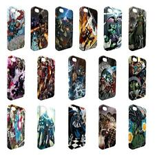 Full Wrap DC Marvel superhero comic book cover case for Apple iPhone - W16