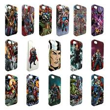 Full Wrap DC Marvel superhero comic book cover case for Apple iPhone - W15