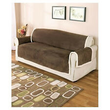 SLIPCOVERS,FURNITURE COVER,MICROSUEDE AND SHERPA,SOFA,LOVESEAT,CHAIR,REVERSIBLE