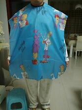 Kid Child Hair Cutting Cape Apron Gown Hairdressing Hairdresser Barber Cartoon 4