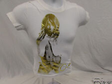 CJ Ciara Gold Women's T-Shirt Size Small