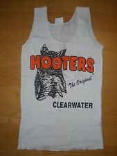 NEW HOOTERS *GRAB BAG* AUTHENTIC WHITE UNIFORM TANK TOP CLEARWATER FL XS/S/M/L