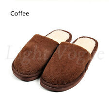 Women Men Home Anti-slip Shoes Soft Warm Cotton Sandal House Indoor Slippers 06