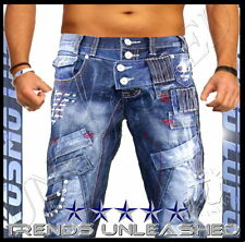 ALL SIZES AVAILABLE Mens Kosmo Lupo Size 34 Jeans for Man K & M k&m x ""