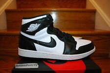 2014 Nike Air Jordan 1 I Retro High OG Black White 555088 010 GS & MEN Sz: 4y-15