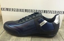 Dirk Bikkembergs Mens Shoes Sneakers Leather Revolution BKE107455 - New In Box