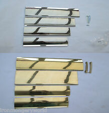 3 Finishes polished brass Satin steel INTERIOR INNER FLAP LETTER BOX TIDY