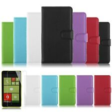 NEW Flip Leather Wallet Stand Case Cover Pouch for Nokia Lumia 625 + FREE Film