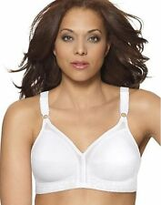 New Playtex Everyday Basics Lightly Lined Soft Cup Bra, #5213 White and Black