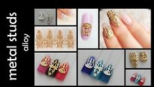 Vintage Hollow-out Rockstar Design 3D Nail Art Decoration Craft Charms Studs