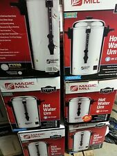 Magic Mill Hot Water Urn/Pot -- 25 - 200 Cup - Shabbat/Yom Tov Mode