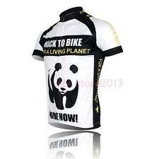 Men's New Cycling Bike Short Sleeve Top Clothing Bicycle Sportwear Jersey
