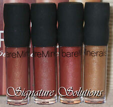 Bare Escentuals Lip ~ 100% Natural Lip Gloss Mini - You Pick Your Color!  N - Z