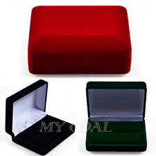 Velvet Jewelry Box Ring Earrings Bracelet Necklace Pendant Case Holder Organizer