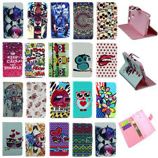 Fashion PU Leather Wallet Stand Case Cover Skin For Samsung Galaxy Note Phone