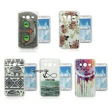 Painting TPU Case Soft Gel Cover Rubber Skin For Samsung Galaxy Core 2 SM-G355H