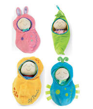 New Manhattan Toy Snuggle Pods Soft Baby Plush Cuddly Doll Educational Toy