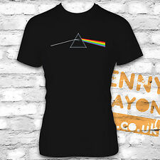 PINK FLOYD - THE DARK SIDE OF THE MOON TSHIRT - ENGLISH ROCK BAND - RETRO DESIGN