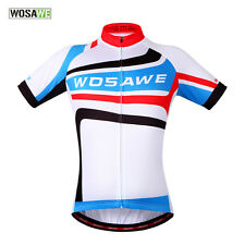 Men's Cycling Sport Jersey Bicycle Wear Clothing Short Sleeves Shirt Top M-3XL