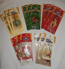 YANKEE CANDLE CAR JAR HOLIDAY AIR FRESHENER SOLD IN SETS OF 3! NEW FOR 2014!