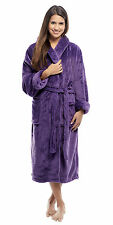 Tahoe Microfleece Shawl Collar Plush Robe, Personalizable Embroidery available