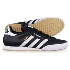 New Men's Adidas Originals Samba  Trainers Leather Black UK Sizes 7-12