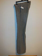 "$59.95 NWOT 29"" Womens GAP 1969 Perfect Boot Cords Sharkskin Grey USA Fabric"