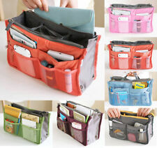 Dual Insert Handbags Multi-function Bag in Bag Travel Makeup Organizer Pockets
