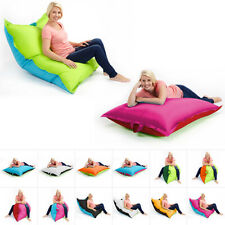 Two Tone Bean Bags Floor Cushion Beanbag Large Waterproof Indoor Outdoor Garden