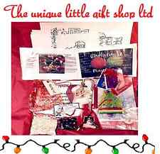 Christmas eve Box /stocking Fillers craft/sweets/chocolates/puzzles/santa letter
