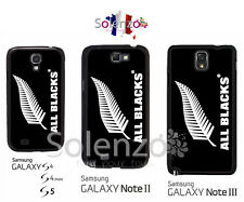 Coque cover case Samsung S4, S4 mini, S5, Note 2, 3, All Blacks Rugby
