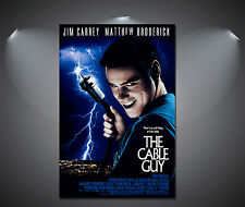 The Cable Guy Jim Carey Vintage Movie Large Poster - A1, A2, A3, A4 sizes