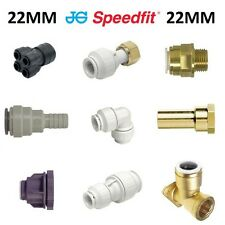 22MM JOHN GUEST SPEEDFIT NEW 22MM ELBOW/TEE/COUPLING/ FITTINGS/MANIFOLD/BRASS