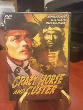 CRAZY HORSE & CUSTER THE UNTOLD STORY  2004  DVD WAYNE MAUDER SLIM PICKENS