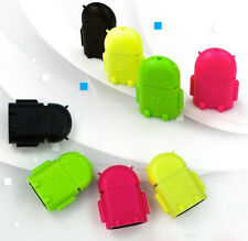 Colorful Robot Micro USB Host OTG Adapter Cable for Samsung Galaxy S3 S4 Note2 Q