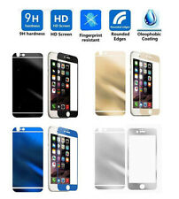 Mirror Effect Tempered Glass Screen Protector For iPhone 4 5 6 S SE Plus 7 8 Lot