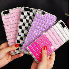 Gradient crystal violet hard Case Cover Skins For Apple iPhone 5 5S 6 & 6 plus