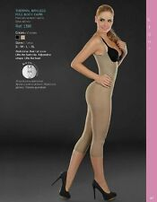 CoCoon Full Body Thermal Shaper Girdle Control Capri Termica All Size Braless