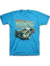 Back To The Future Delorean T Shirt Sm Med Lg Xl 2Xl