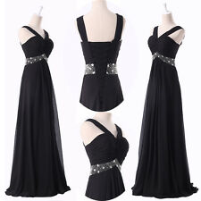 2014 CYBERMONDAY LONG Sexy Prom Party Dress Formal Bridesmaid Evening BAll Gown
