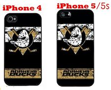 Anaheim Ducks iPhone 4 4s iPhone 5 5s Case Hard Silicone Case 2