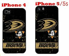 Anaheim Ducks iPhone 4 4s iPhone 5 5s Case Hard Silicone Case 1