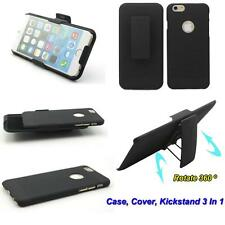 Combo Slide Hard Case + Holster Belt Clip Kickstand Cover Skin For Cell Phone