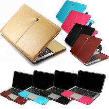 "Luxury Leather Case Buckle Laptop Cover for Macbook Air 11"" Pro 13"" 15 "" Retina"