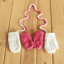 Baby Gloves Warm Soft Fleece Lovely Cute Child Infant Kids Winter x 1 pair