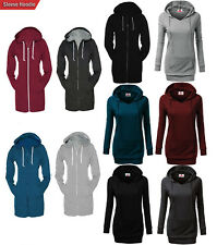 Brand New Finest Fashionable and Lavishness Long Length Zip Up Hoodie