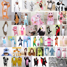 New Hot Unisex Adult Pajamas Kigurumi Cosplay Costume Animal Sleepwear Big Sale