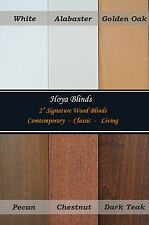 "2"" Signature Real Wood Window Blinds  -     Factory Direct Custom - Made"